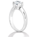 2.01 ct E VVS1 oval fancy diamond engagement ring