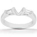 Marquise cut diamond ringengagement set 3 ct. diamonds