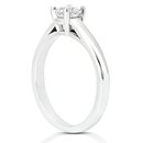 E VVS1 Diamonds 2.25 ct. solitaire WHITE GOLD ring new