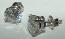 3.5 CARAT G VS diamond stud earrings earring solitaires