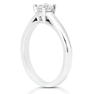 E VVS1 Diamonds 2.25 ct. solitaire platinum ring new