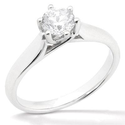 3 ct. diamond white gold wedding ring solitaire jewelry