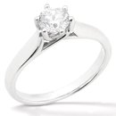 3 ct. diamond white gold wedding ring solitaire jewelry