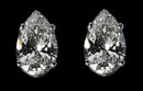 6.02 Ct. Diamonds G SI1 earrings pear cut ear ring new