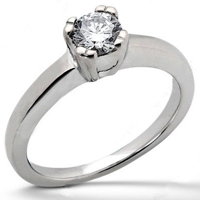 E VVS1 gold 3.0 ct. DIAMOND solitaire NEW engagement