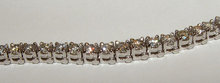 2.6 carats DIAMOND TENNIS BRACELET sparkling diamonds