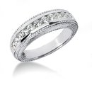 Beautiful 1.41 Carat diamonds engagement set white gold