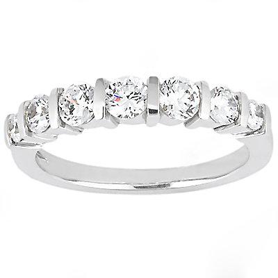 1.5 Ct. diamonds ring white gold engagement set diamond