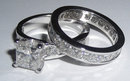 2 carats diamonds engagement ring 3 stone ring gold new