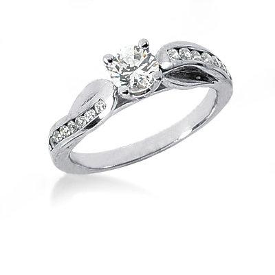 New diamonds 1.55 Ct. engagement ring anniversary band