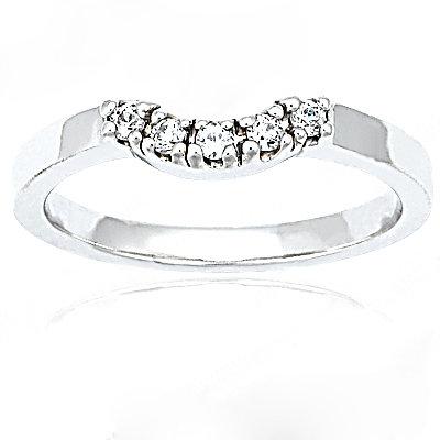 1.51 Ct. diamonds wedding band set F VS1 diamonds ring