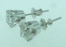 F VS1 2.51 carats DIAMOND STUDS EARRING studs earrings