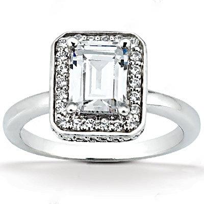 2.20 Ct. Diamonds wedding ring F VVS1 diamonds & gold