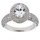 2.72 Ct. Diamonds anniversary ring white gold new ring