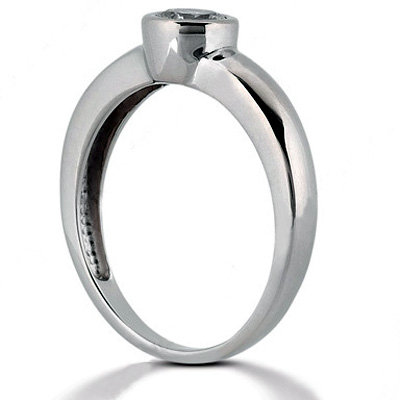 G SI1 Diamonds 2.25 ct. PLATINUM solitaire ring new