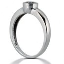 G SI1 Diamonds 2.25 ct. PLATINUM solitaire ring new