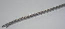 20 carat DIAMOND TENNIS BRACELET white gold 14K jewelry