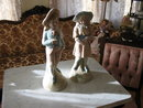 ANTIQUE GERMAN BISQUE FIGURINES