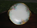 T & V LIMOGES H. PAINTED CAKE PLATE