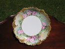 HANDPAINTED  RETICULATED  AUSTRIAN  BOWL
