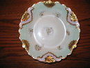 B & H  LIMOGES HAND PAINTED  BOWL