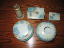 LIMOGES HAND PAINTED DRESSER SET