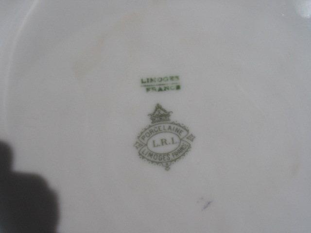 DUBOIS SIGNED   LIMOGES PLACQUE