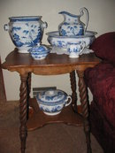 MINT  STAFFORDSHIRE WASH SET