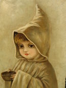 O/C VICTORIAN ERA CHILD WITH BOWL