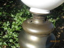 LARGE NAPOLEONIC BRADLEY AND HUBBARD TABLE LAMP