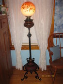 BRADLEY AND HUBBARD  PIANO LAMP