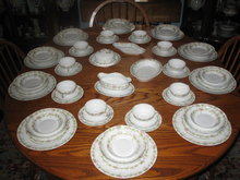 ANTIQUE LIMOGES DINNER SET