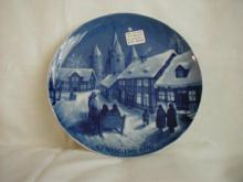 Royale's 1970 Christmas Day Plate, Midnight Mass at Katundberg Church
