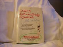 Goren Settles The Bridge Arguments by Charles H. Goren