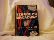Terror On Broadway by David Alexander