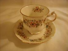 Paragon Cup and saucer, Meadowvale L/L