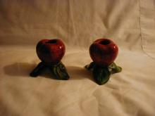 Franciscan Apple candleholders, pr