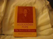 Alexander Pope - The Poetry of Allusion