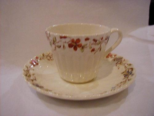 Wicker Dale demi cup and saucer