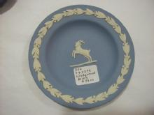 Blue Jasperware Sweetmeat, Aries