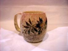 Large Mug with leaves