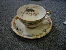 Arcadia cup and saucer, as is