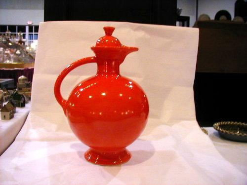 Fiesta Red Carafe