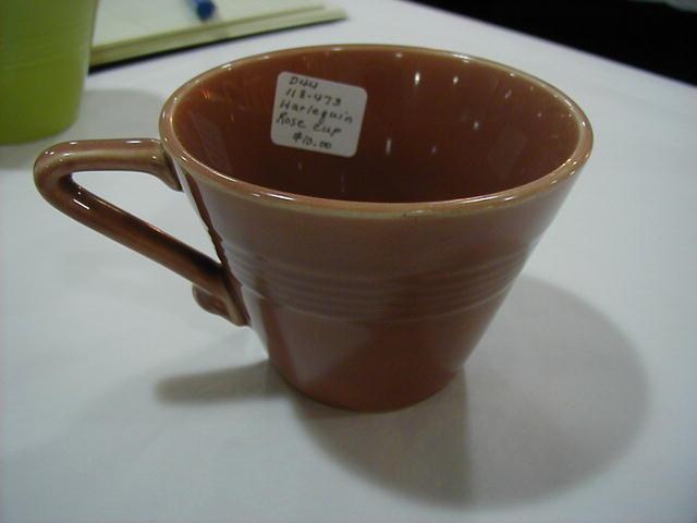 Harlequin Rose cup