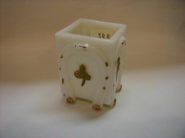 Horseshoe and Clover Toothpick Holder