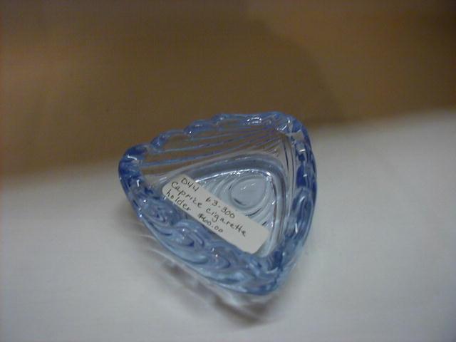 Caprice blue triangular cigarette holder