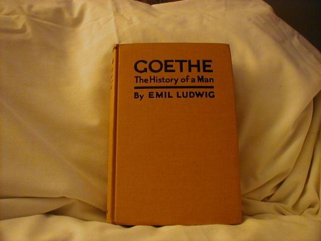 Goethe, History of Man