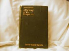 A Harmony of the Essays, etc. by Francis Bacon