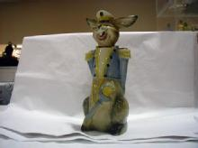 W. Germany Rabbit Decanter, In Admiral's Uniform