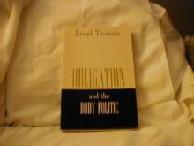Obligation and the Body Politic, signed copy